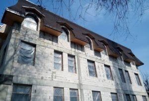 Строительство домов из пеноблока, газобетона цена Днепр - переход 2