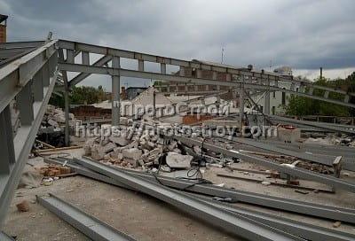Демонтаж стен, металлоконструкций Днепр фото 7