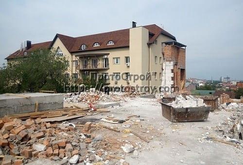 Демонтаж стен, зданий Днепр 3