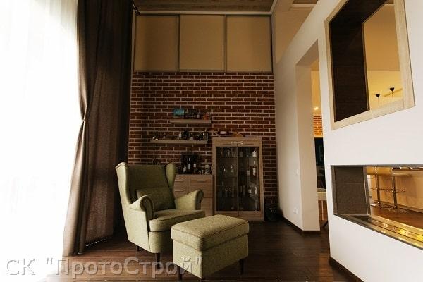 Дизайнерский ремонт частного дома Днепр - фото 2