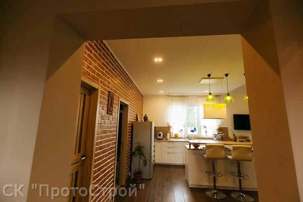 Дизайнерский ремонт частного дома Днепр - фото 3
