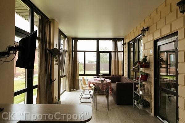 Дизайнерский ремонт частного дома Днепр - фото 4