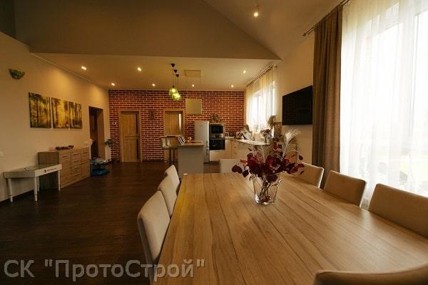 Дизайнерский ремонт частного дома Днепр - фото 1