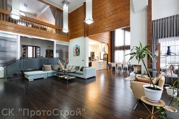 Дизайнерский ремонт частного дома Днепр - фото 7