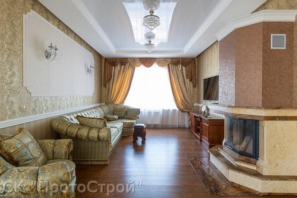 Дизайнерский ремонт частного дома Днепр - фото 5