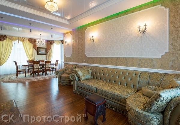 Дизайнерский ремонт частного дома Днепр - фото 6