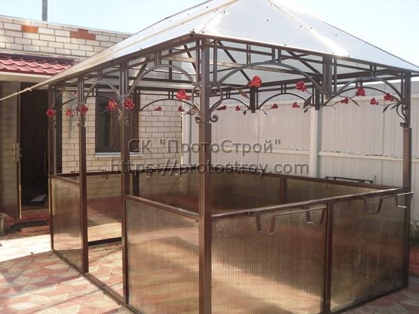 Металлическая мебель производство беседок из металла цена Днепр 2
