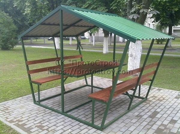 Металлическая мебель производство беседок из металла цена Днепр 5