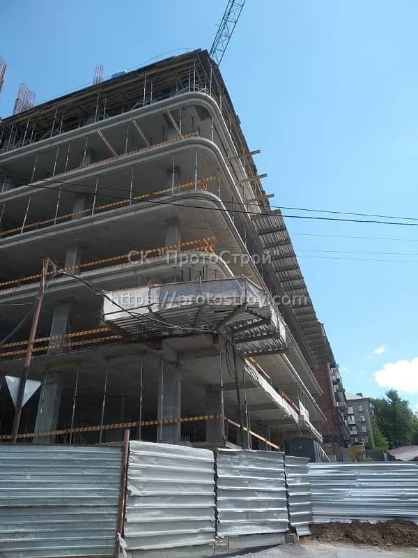Строительство многоквартирного дома - 10