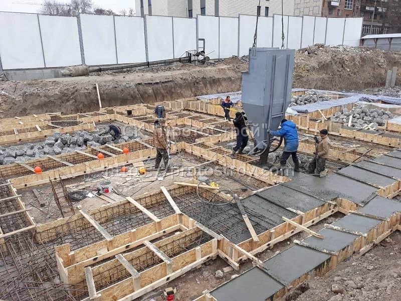 Строительство многоквартирного дома - 3