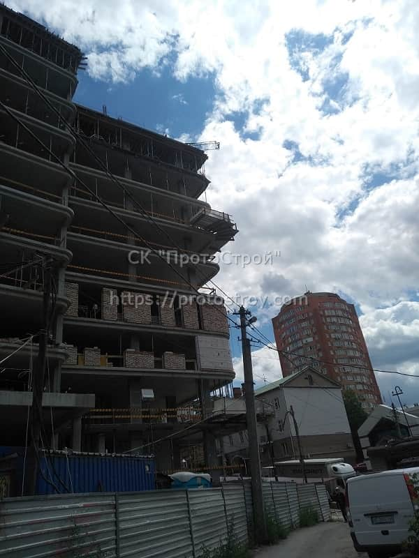 Строительство многоквартирного дома - 8