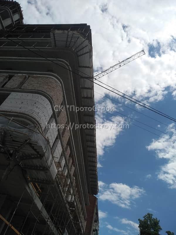 Строительство многоквартирного дома - 9